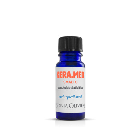 KERA.MED Smalto con Acido Salicilico 10 ML