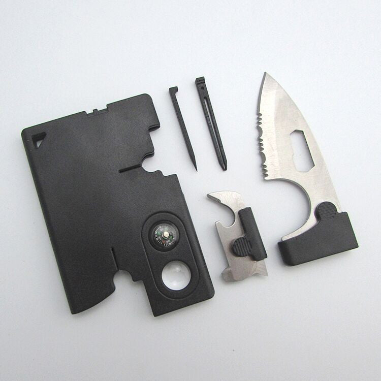 10 in 1 Multi Tool Pocket Credit Card Survival Knife