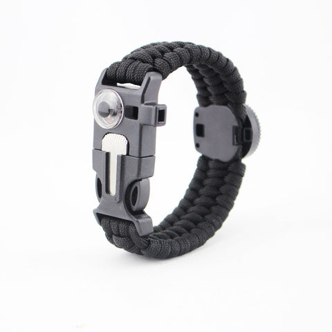 6 in 1  Paracord Survival Bracelet