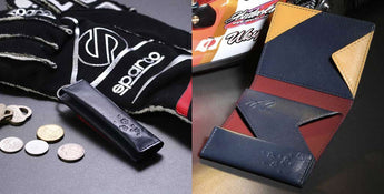 We released the abrAsus Slim Wallet - Ukyo Sasahara Edition and abrAsus Small Coin Pouch - Ukyo Sasahara Edition