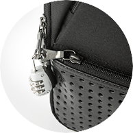 secure zippers with lock