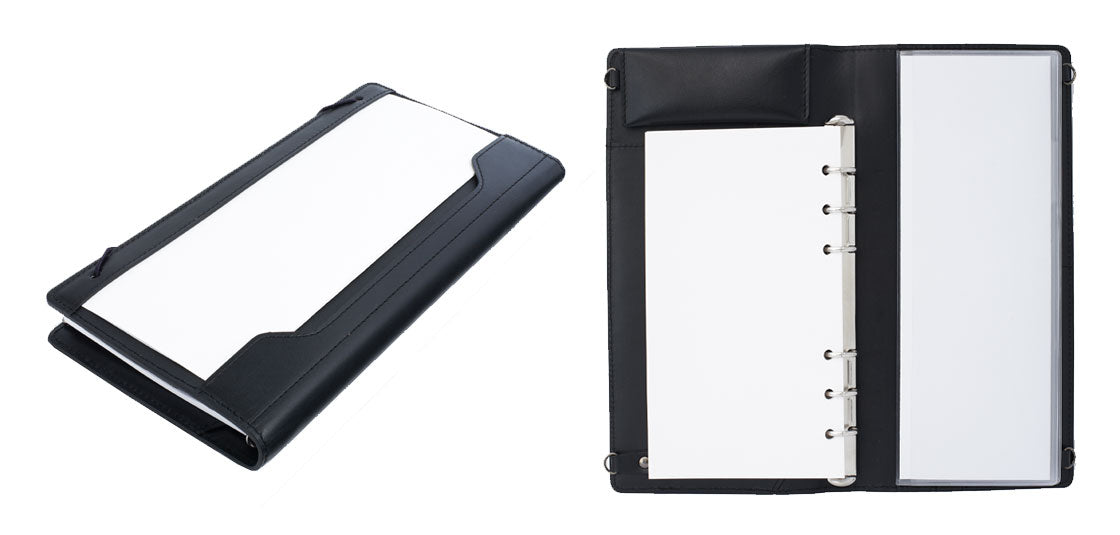 A six hole notebook that works with standard copy paper