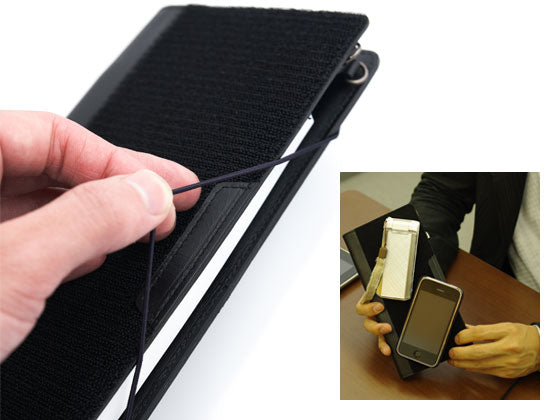Attach any number of extra tools to the velcro cover