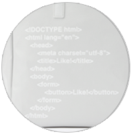 HTML code print (gray version only)