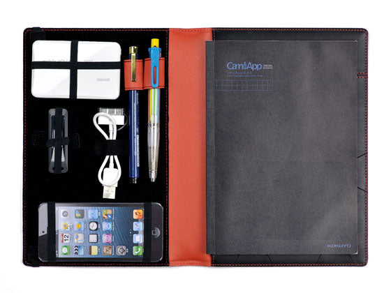 Design-your-Own Notepad can carry your favorite tools arranged the way you like, along with an A5 notebook.