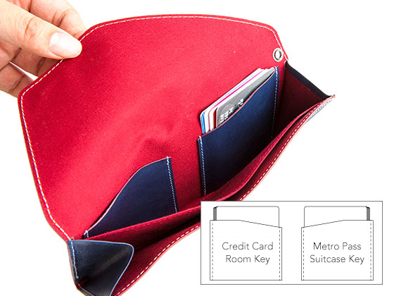 Card pockets for easy classification