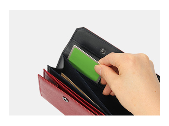 specialized IC/RFID card slot