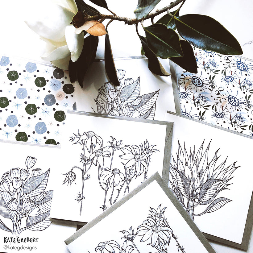 Greeting Cards - Botanical