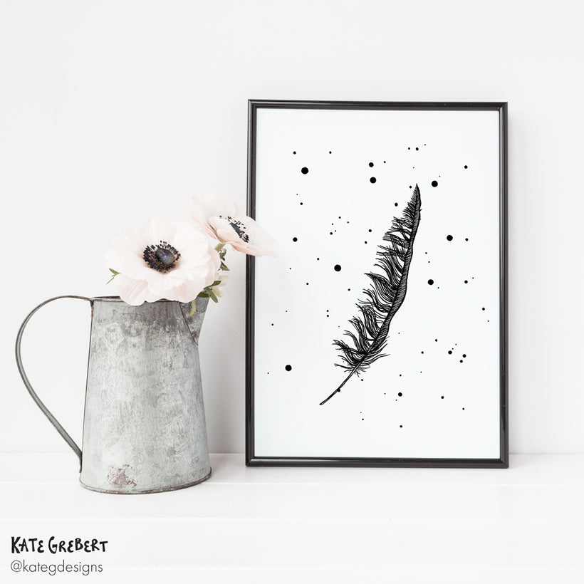 Wall Art - Art Prints - Monochrome