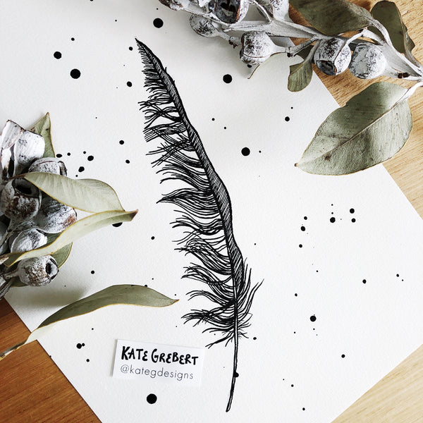 Feather - Feather Art Print