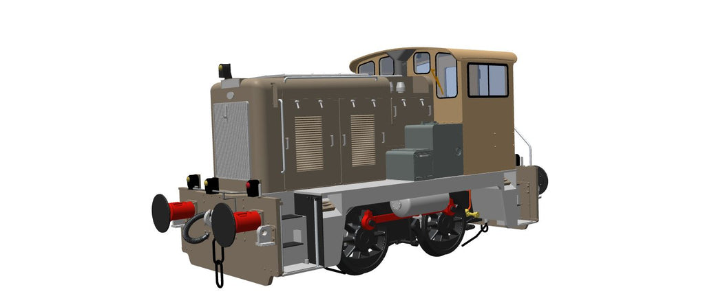 HELJAN REVEAL BRITISH RAIL CLASS 02 PROJECT in 0 & 00!