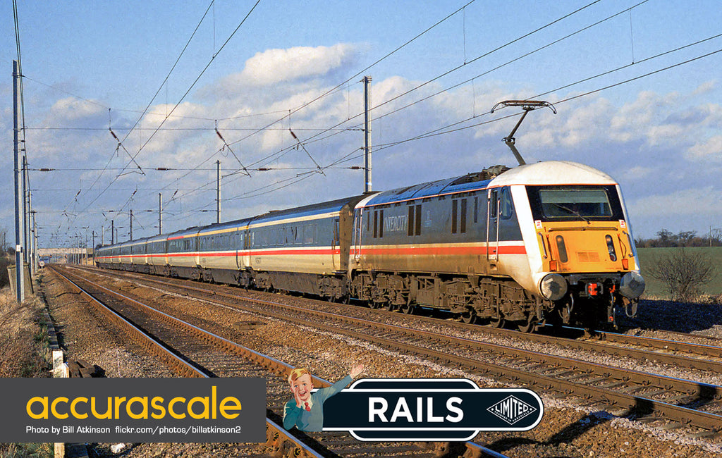 Rails of Sheffield announce Class 89 in 00 - In partnership with Accurascale