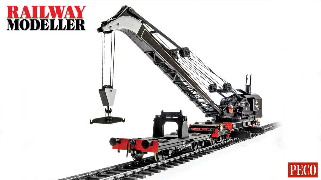 NEW VIDEO! - Bachmann Ransomes & Rapier 45 Ton Steam Crane - Railway Modeller - January 2020