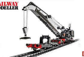 Bachmann Ransomes & Rapier 45 Ton Steam Crane - Railway Modeller - January 2020