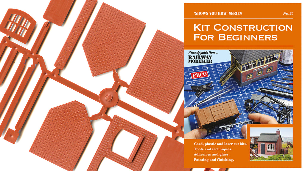 FREE KIT CONSTRUCTION GUIDE FOR BEGINNERS - RAILWAY MODELLER - MARCH 2020 ISSUE