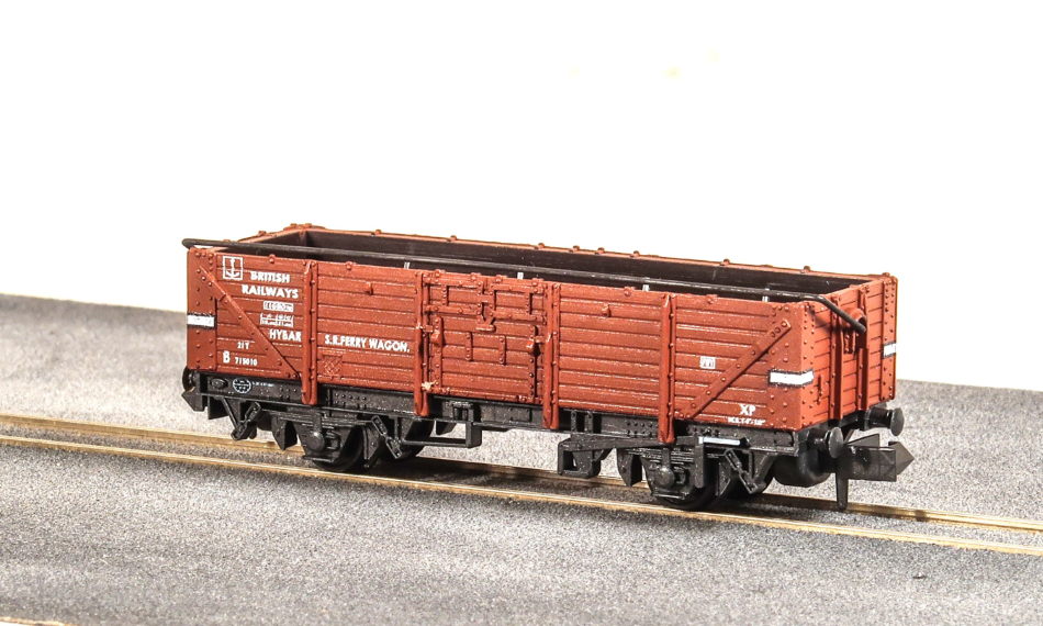 "BR 15ft Ferry ""HYBAR"" Open Wagon - N Gauge"