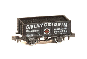 New N Gauge Wagon - NR-P428 Gellyceidrim Colliery