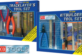 PECO Tools - The must have tool sets for railway modelling