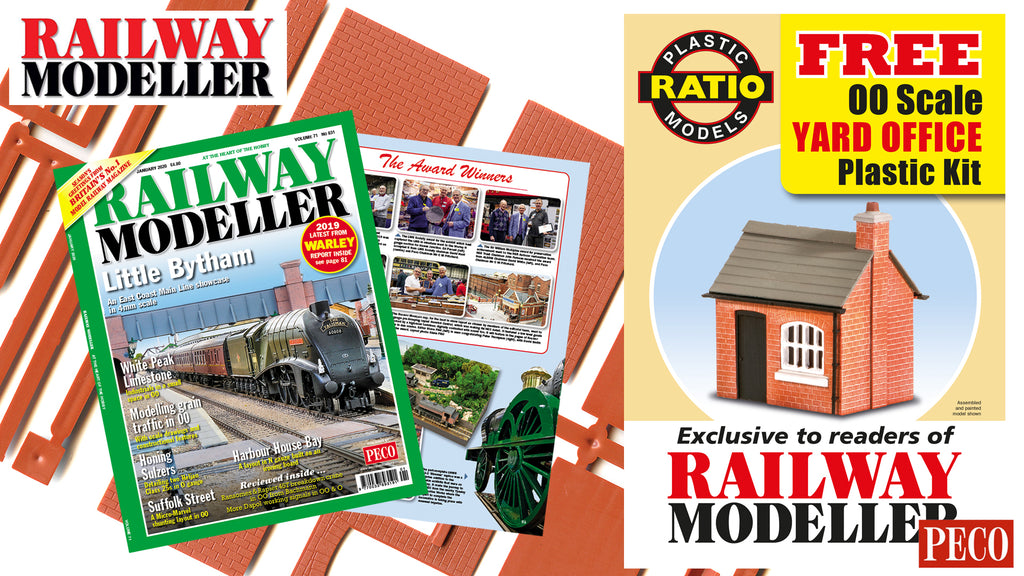 Railway Modeller - January 2020 Issue - On Sale Now!
