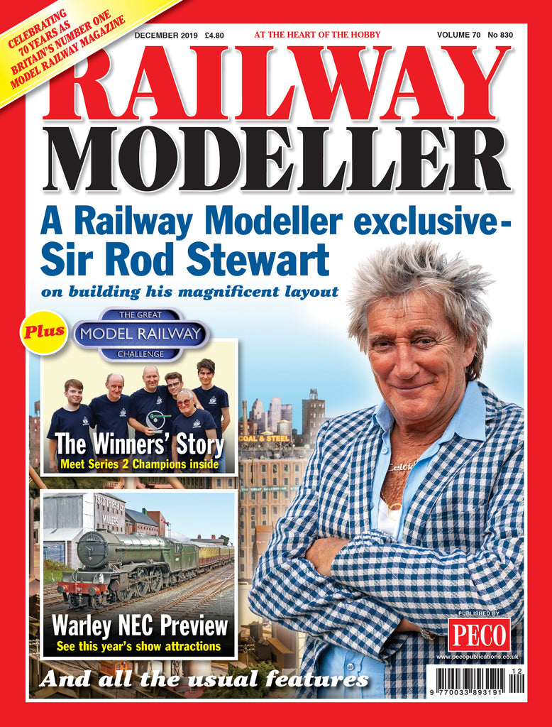 Railway Modeller exclusive interview with Sir Rod Stewart!