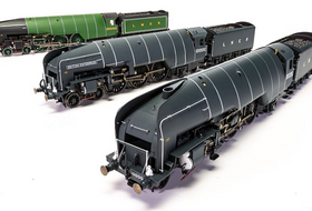 Hornby Reveal LNER W1 Livery Samples, APT & Class 91 EPs, plus more!