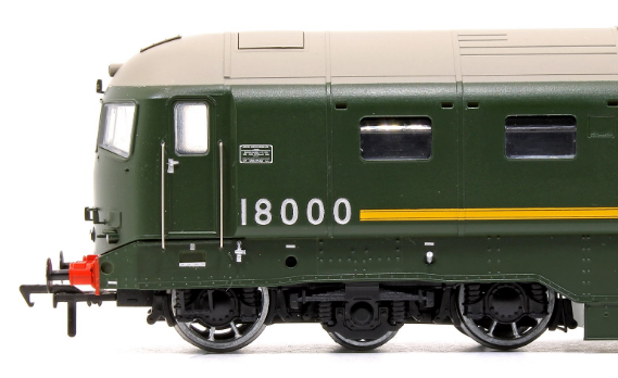 Rails of Sheffield Exclusive 18000 Gas Turbine - First Livery Sample!