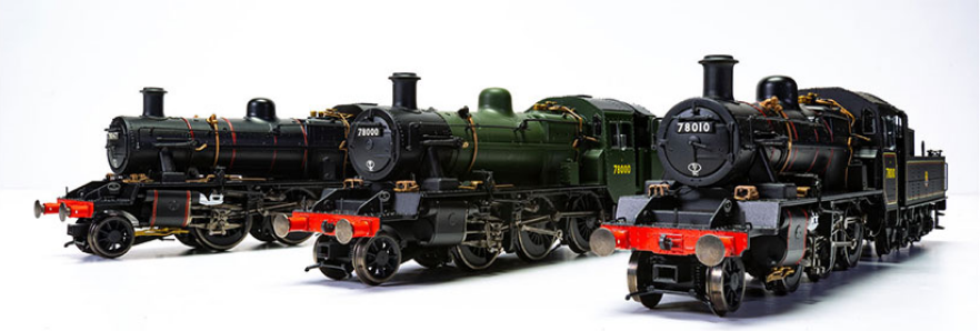 Hornby Reveal BR Standard Class 2MT & 'Streamlined' W1 Samples