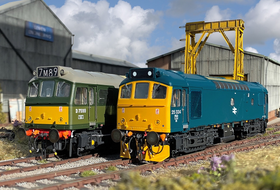 Sutton's Locomotive Workshop announces British Rail Class 25 in 4mm!