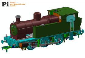 "Planet Industrials Announce RTR Kerr Stuart ""Victory"" 0-6-0T in OO!"