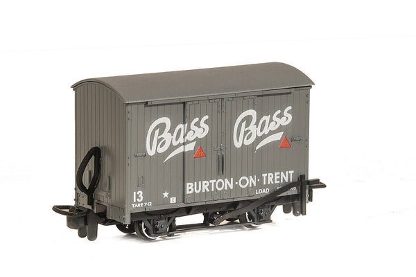 PECO Model Trains | 00-9 Box Van Bass