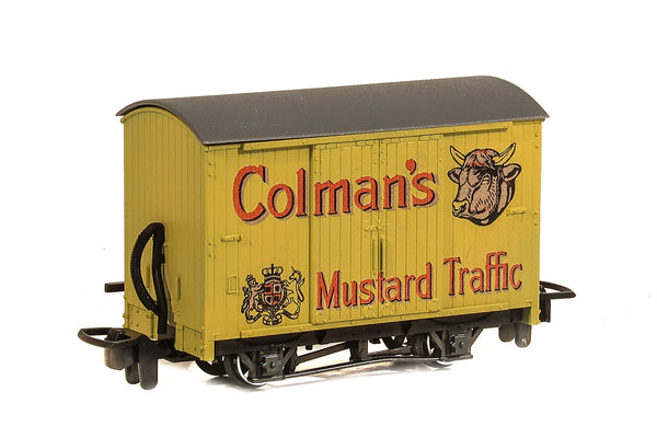 PECO Model Trains | 00-9 Box Van Colman's Mustard