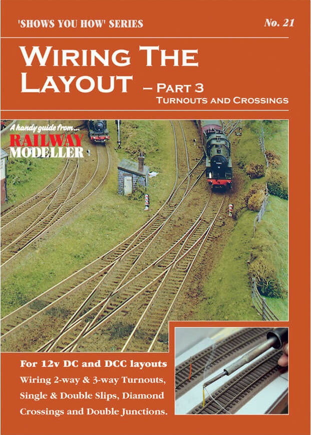 wiring the layout part 3: turnouts and crossings