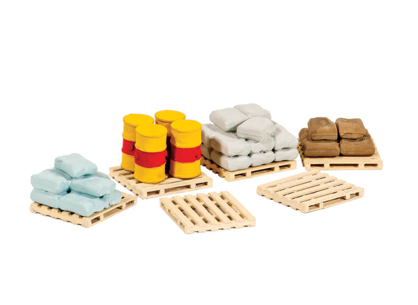 Pallets, Sacks and Barrels