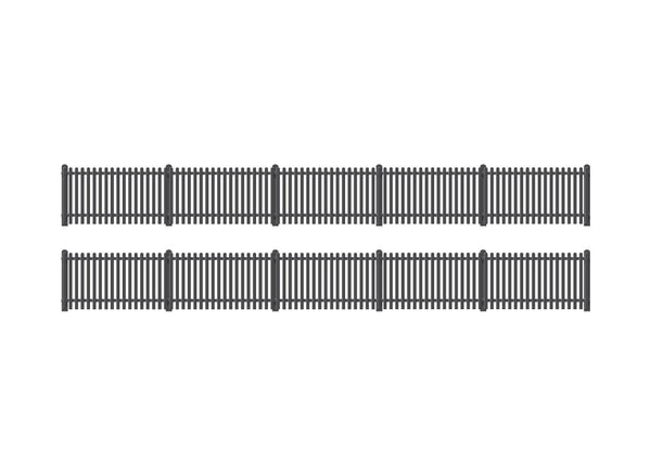 GWR Station Fencing, Black