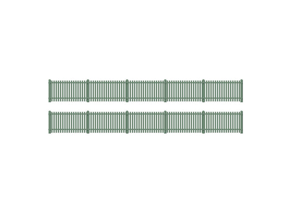 Straight Station Fencing, Green