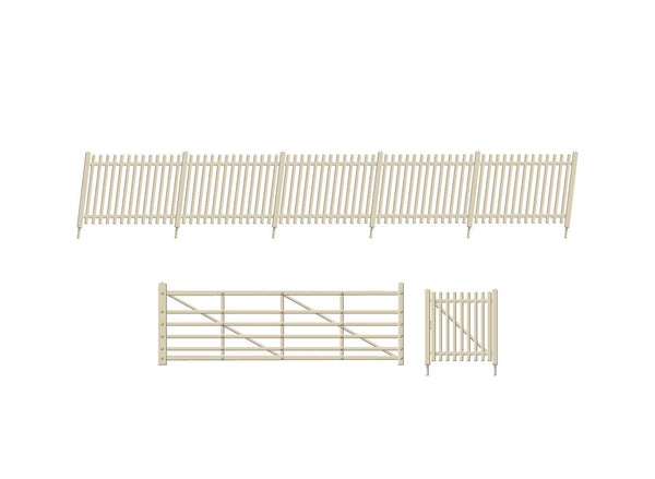 SR Concrete Pale Fencing ramps and gates