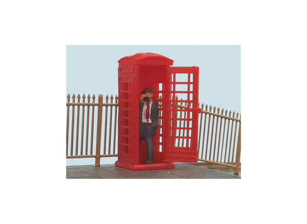 Telephone Box with Caller