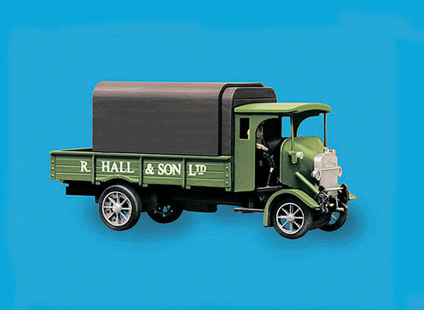 Hall and Sons Livery Thornycroft PB 4ton Lorry