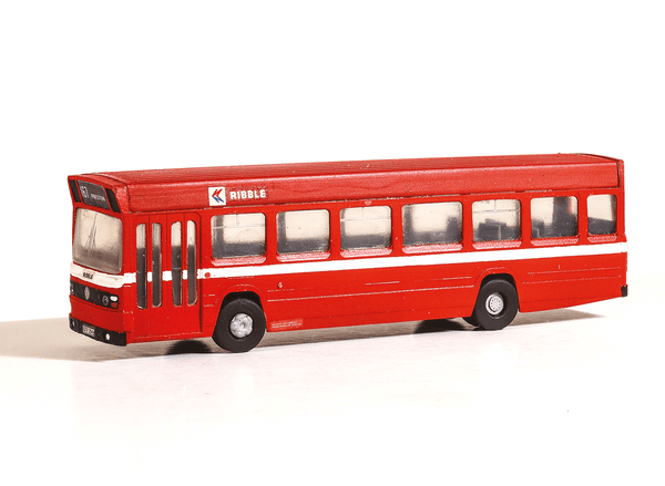 Leyland National Single Decker Bus, Red Vari-kit