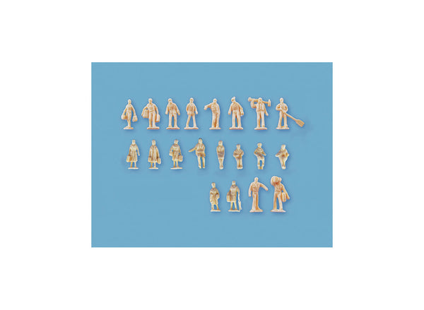 Assorted Unpainted Figures Set B