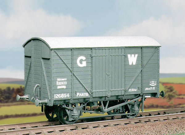 GWR 12ton Ventilated Box Van Kit