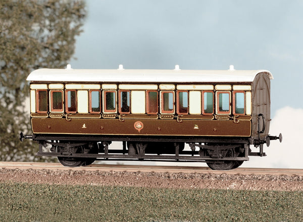 GWR 4 Wheel Composite Coach Kit