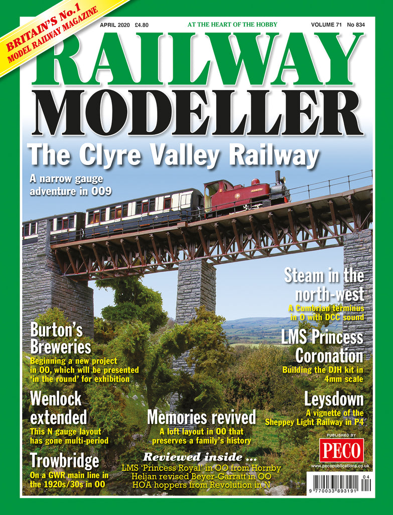 RAILWAY MODELLER APRIL 2020 Vol.71 No.834