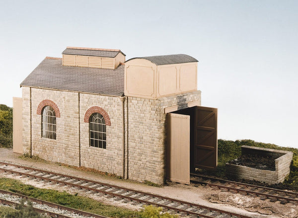 Single Road Engine Shed