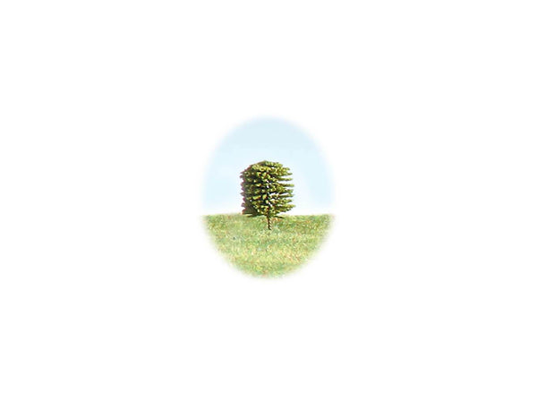 Tree 18mm Green - Single