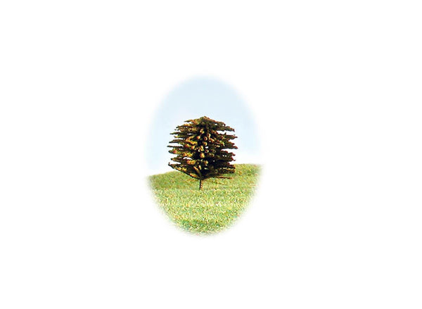 Tree 25mm Autumnal & Blossom - Pack of 12