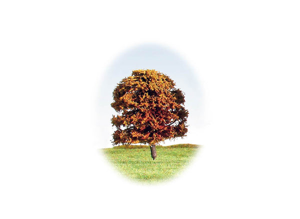 Tree 70mm Autumnal & Blossom - Pack of 4