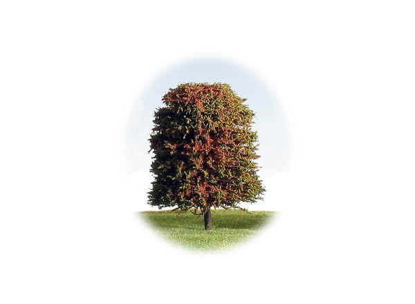 Tree 90mm Autumnal & Blossom - Pack of 4