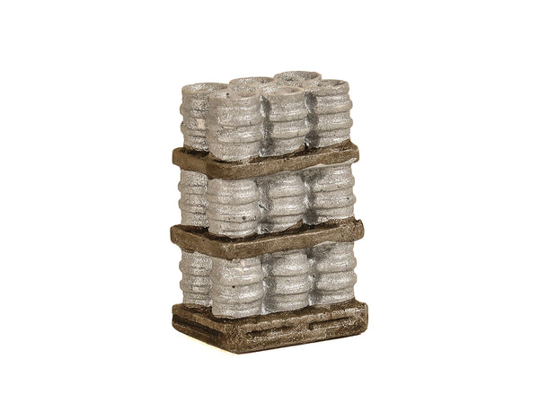 Palleted Alloy Kegs, 3 Tier Full Load