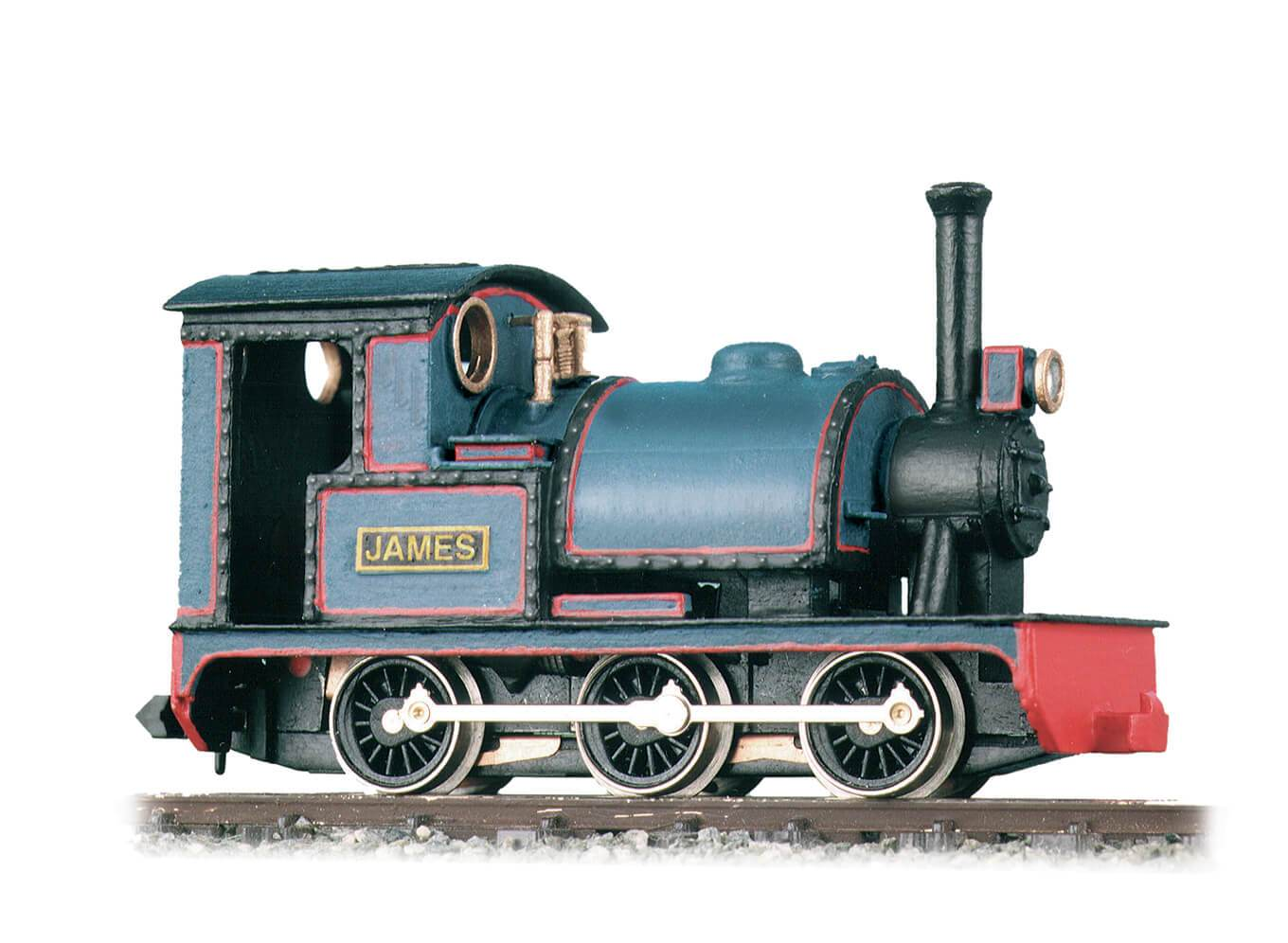 GL-6 Peco OO9 Gauge 0-6-0 Tram Locomotive Kit Chassis not included